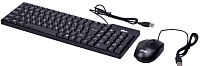 Клавиатура+мышь Ritmix RKC-010 (черный) -