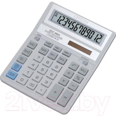 Калькулятор Citizen SDC-888 XWH