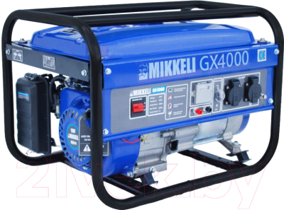 Бензиновый генератор Mikkele GX4000