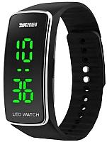 Часы наручные унисекс Skmei 1119-1 (черный/серебристый) -