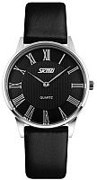 Часы наручные женские Skmei 9092-5 (черный/черный) -