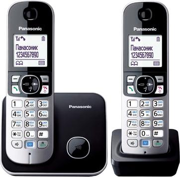 Беспроводной телефон Panasonic KX-TG6812
