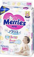 Подгузники детские Merries M (64шт) -