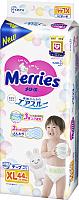 Подгузники детские Merries XL (44шт) -