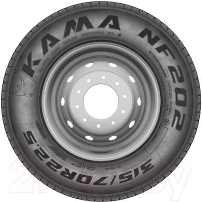 Грузовая шина KAMA NF 202 265/70R19.5 140/138M M+S Рулевая