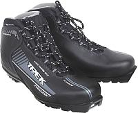 Ботинки для беговых лыж TREK Blazzer NNN (черный/серый, р-р 35) -