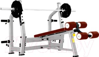 Скамья для жима штанги Bronze Gym J-024_C