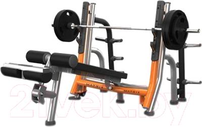 Скамья для жима штанги Matrix Fitness Magnum A680-03