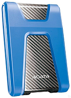 Внешний жесткий диск A-data DashDrive Durable HD650 1TB (AHD650-1TU31-CBL) (синий) -