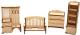 Комплект аксессуаров для кукольного домика POLLY Прихожая / 522891 -