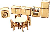 Комплект аксессуаров для кукольного домика POLLY Кухня / ДК-1-001-06 -