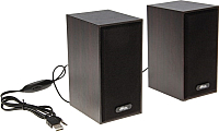 Мультимедиа акустика Ritmix SP-2011W (темно-коричневый) -