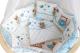 Комплект постельный в кроватку Баю-Бай Раздолье К51-Р4 (голубой) -