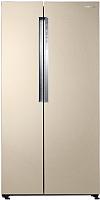 Холодильник с морозильником Samsung RS62K6130FG/WT -