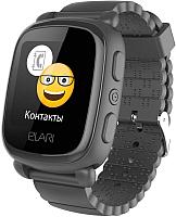 Умные часы детские Elari KidPhone 2 / KP-2 (черный) -