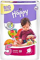 Подгузники детские Bella Baby Happy Junior 12-25кг (58шт) -