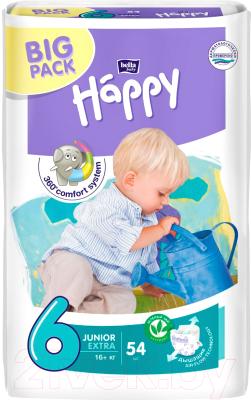 Подгузники детские Bella Baby Happy Junior Extra 16+ кг (54шт)
