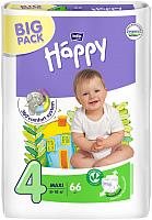 Подгузники детские Bella Baby Happy Maxi 8-18кг (66шт) -