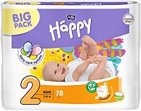 Подгузники детские Bella Baby Happy Mini Air 3-6кг (78шт) -