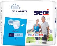 Трусы впитывающие для взрослых Seni Active Large 10 шт -