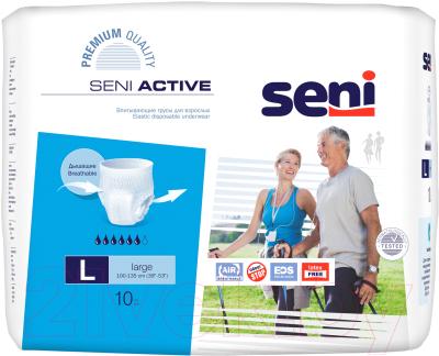 Трусы впитывающие для взрослых Seni Active Large