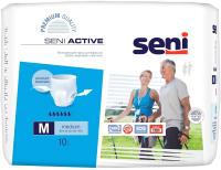 Трусы впитывающие для взрослых Seni Active Medium (10шт) -