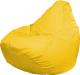 Бескаркасное кресло Flagman Груша Медиум Г1.0-07 (желтый, дюспо) -