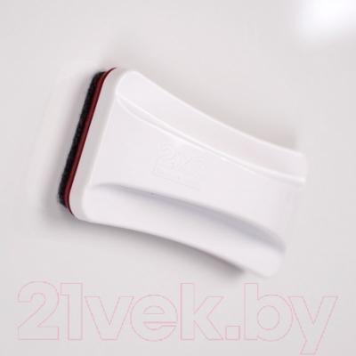 Стиратель для доски 2x3 Slim AS122 (белый)