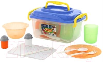 Набор пластиковой посуды Полесье №5 / 59147 (27пр)