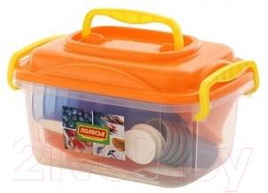 Набор пластиковой посуды Полесье №6 / 59154 (45пр)