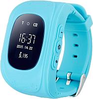 Умные часы детские Wonlex Q50 (голубой) -
