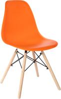 Стул Mio Tesoro Бари SC-001 (оранжевый/дерево) -