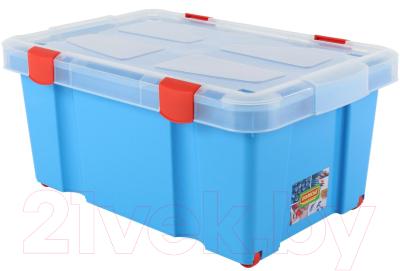 Контейнер для хранения Полесье №51 / 52100 (голубой)