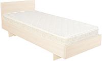 Односпальная кровать Барро КР-017.11.02-05 80x190 (дуб девон) -