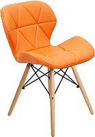 Стул Mio Tesoro Лацио SC-026 (оранжевый/дерево) -