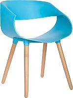 Стул Mio Tesoro Бруно SC-050 (голубой/дерево) -