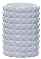 Стакан для зубной щетки и пасты Axentia Vegas 126774 (белый) -