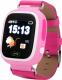 Умные часы детские Wonlex GW100 (розовый) -