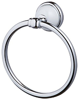 Кольцо для полотенца Bisk 06900 (хром/белый) -