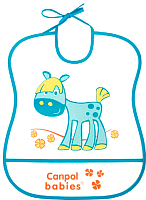 Нагрудник детский Canpol 2/919 (голубой) -