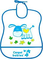 Нагрудник детский Canpol 2/919 (синий) -