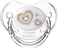 Пустышка Canpol Newborn Baby силиконовая анатомическая 0-6мес / 22/565 (бежевый) -