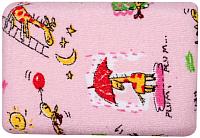 Губка для тела Canpol Махровая / 43/103 (розовый) -