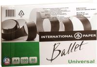 Бумага Ballet Universal ColorLok A4 80г/м 100л -