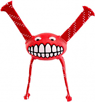 Игрушка для животных Rogz Grinz Flossy Small / RFGR01C (красный) -