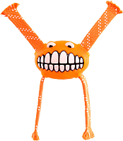 Игрушка для животных Rogz Grinz Flossy Medium / RFGR03D (оранжевый) -