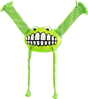 Игрушка для животных Rogz Grinz Flossy Medium / RFGR03L (лайм) -