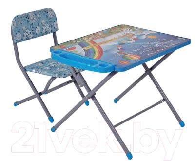 Комплект мебели с детским столом Фея Досуг 101 Алфавит и цифры