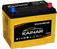 Автомобильный аккумулятор Kainar Asia JR+ / 070 20 38 02 0031 10 11 0 L (75 А/ч) -