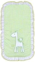 Конверт на выписку FAIRY Жирафик (зеленый) -